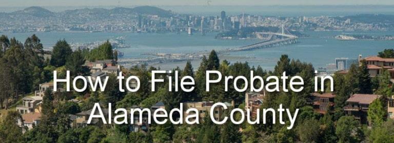 file probate in alameda county