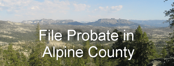file probate in alpine county