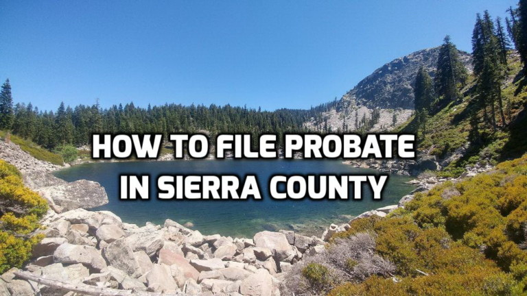 how to file probate in sierra county