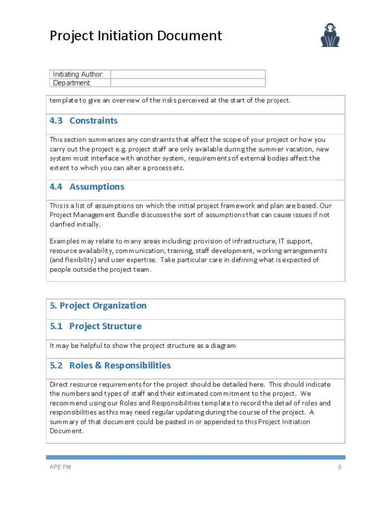 Prince2 terms of reference template images professional for Pmo terms of reference template