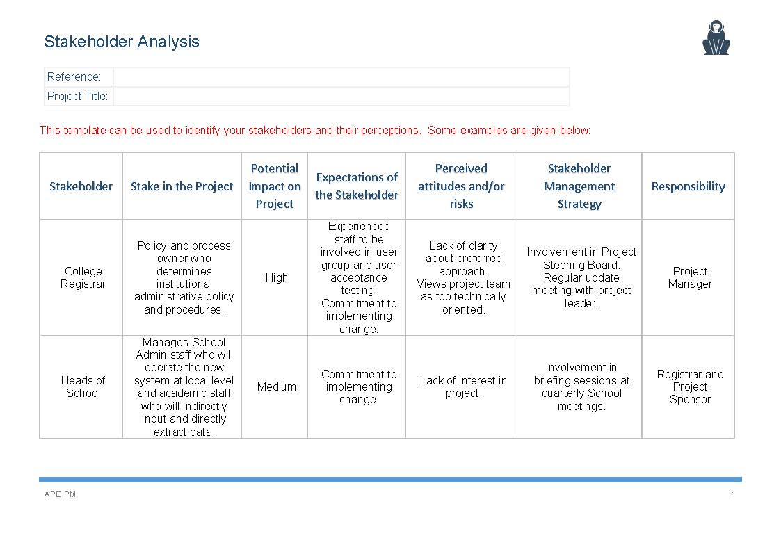 Stakeholder Analysis | www.imgkid.com - The Image Kid Has It!