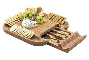 5-Pc Malvern Cheese Board Set