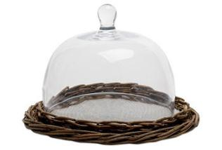 Willow & Glass Display Dome, Large