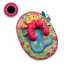 Tummy-Time Ladybug Pillow & Mat by Tiny Love