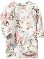 OLD NAVY Floral Sweatshirt Dresses for Baby