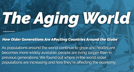 The Aging World - How older generations are affecting countries around the globe