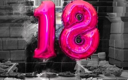 aperitivo festa 18 anni