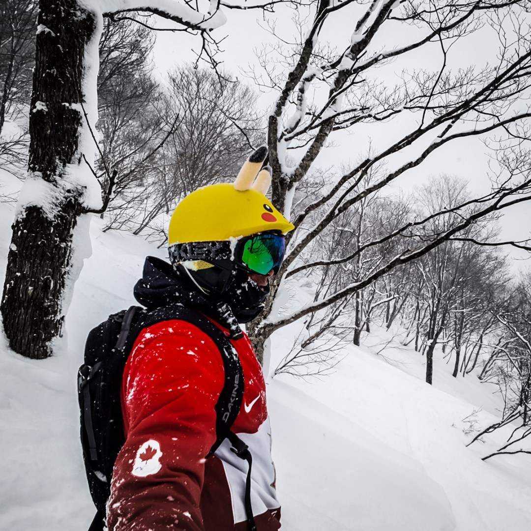 snowboarding cortina japan powder glades
