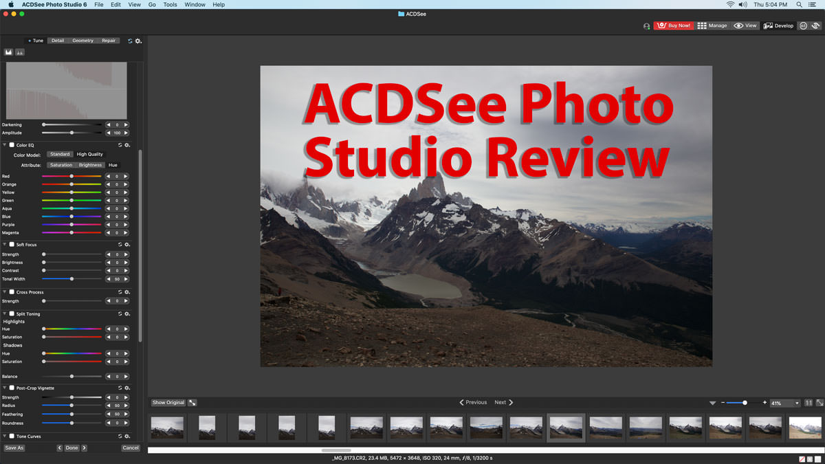 ACDSee Photo Studio Review 2020 – Can it Compete with Lightroom?