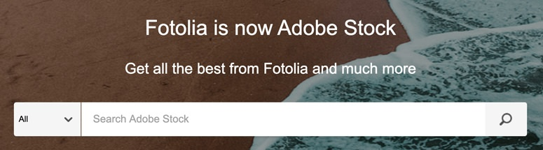 fotolia adobe stock screenshot