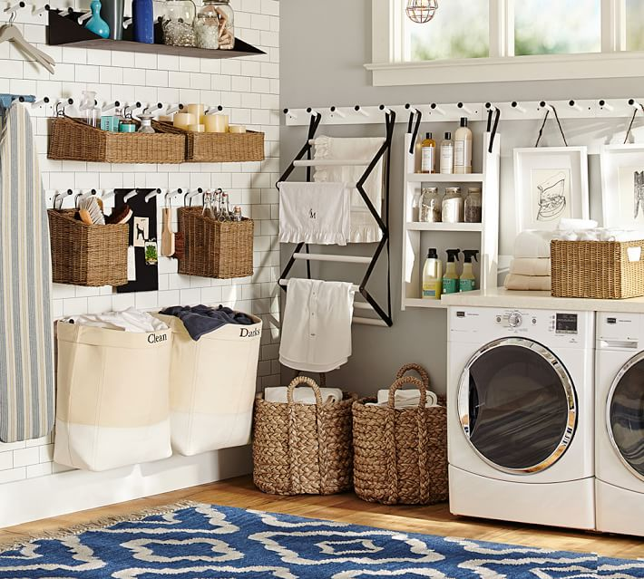 Browse our posts on organization in the laundry and utility room, from decanting detergent to where to stow the dustpan and brush. How to Organize the Laundry Room | Helena Alkhas ...
