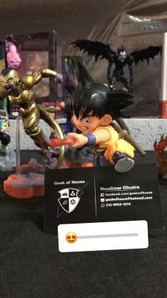 Esse Gokuzinho tava demais!