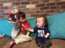 Brotherly shenanigans