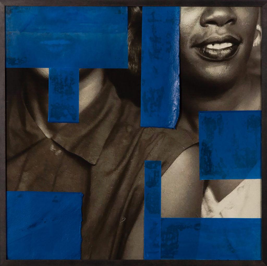 Alanna Fields, Untitled (Blue), 2019
