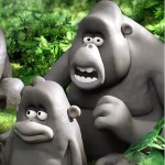 David Attenborough and gorillas