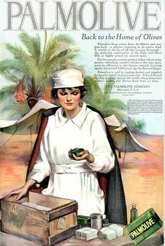palm oil in palmolive-ad-1919