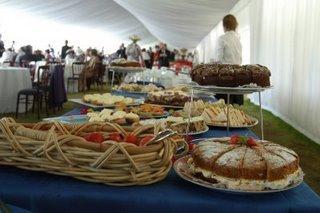 Cakes at Royal Garden Party