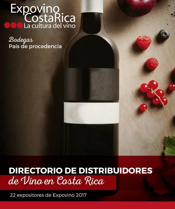 Directorio Distribuidores de Vino de Costa Rica