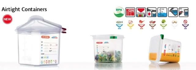 contenedores para transportar alimentos