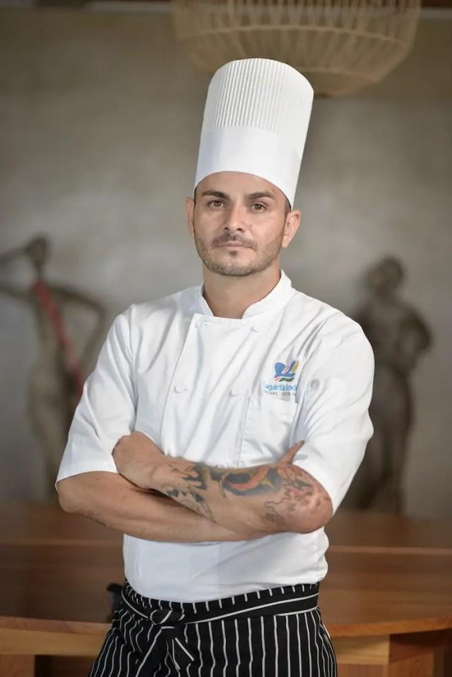 Chef Arturo Balmaceda