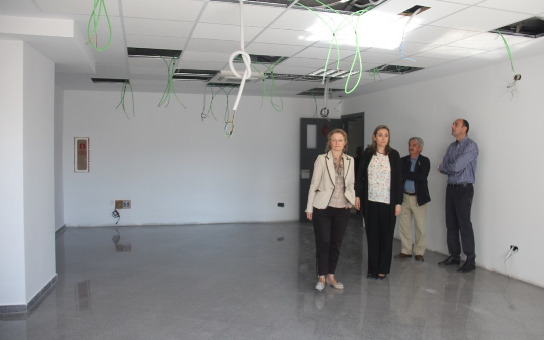 Finaliza la adecuación del nuevo aulario de la Escuela Oficial de Idiomas de Torrent