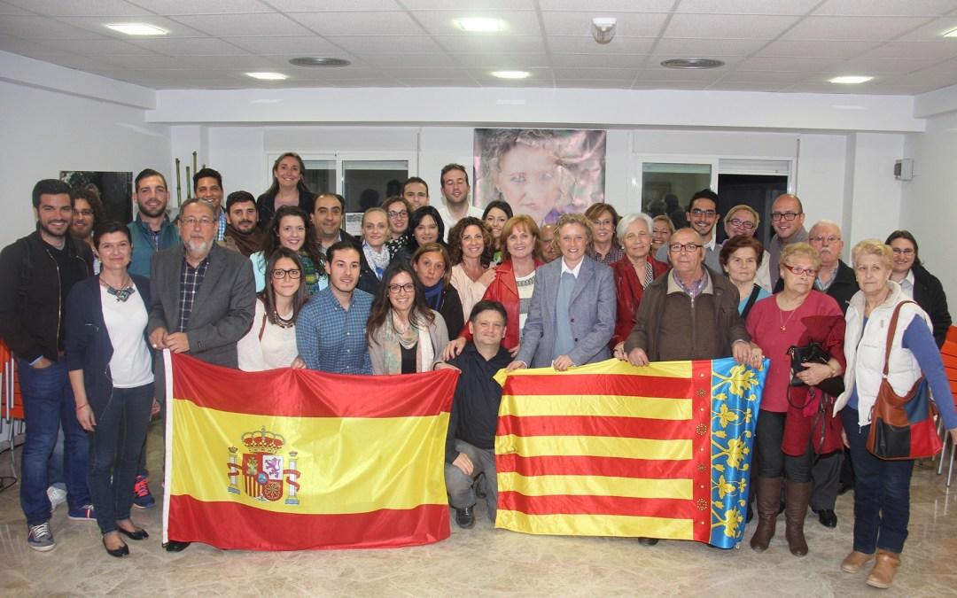 Amparo Folgado presenta su lista electoral con la incorporación de 19 caras nuevas