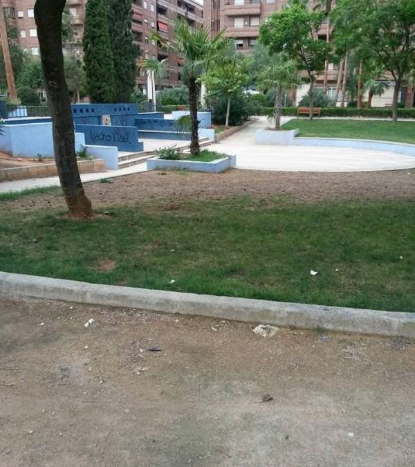"""El PP denuncia que """"el renovado parque de la Plaza América se encuentra en un estado lamentable"""""""