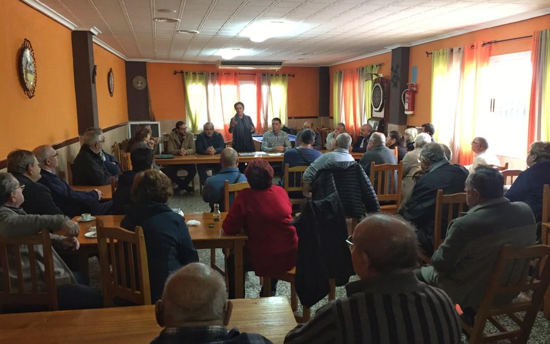 El PP presenta 367 firmas de los vecinos de Buenavista y Falda de la Sierra solicitando solución al problema del agua