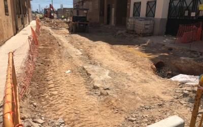 El PP lamenta que el alcalde y la concejala se desentiendan de atender las dudas y quejas de los vecinos por las obras de la calle Virgen del Olivar