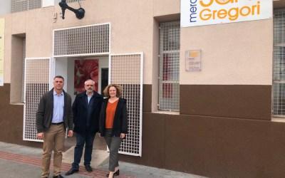 Folgado pide aire acondicionado para el Mercat de San Gregori