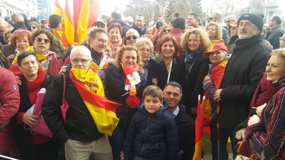 Folgado: «la unidad de España no se negocia, no queremos ver a Torrent ni a España humillada por el gobierno de Sánchez»