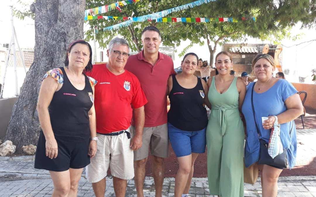 El PP con los vecinos de la Marxadella
