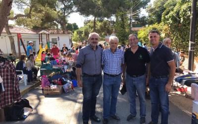 El PP apoya a la AVV El Vedat en su II Mercadillo solidario