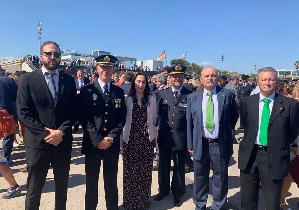 El PP de Torrent con la Policía Nacional en el día de los Ángeles Custodios