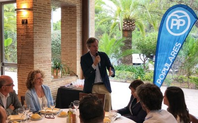 El PP celebra el 9 y 12 de octubre en El Vedat con el vicesecretario general, Antonio González y la presidenta Isabel Bonig