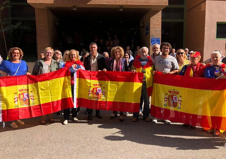 El PP de Torrent muestra su apoyo a la Policía Nacional por su trabajo en Cataluña