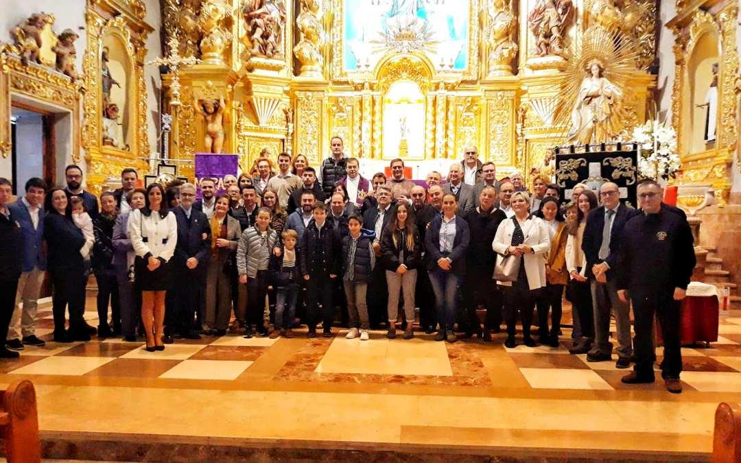 Folgado felicita a la hermandad de la Flagelación del Señor por su 75 Aniversario