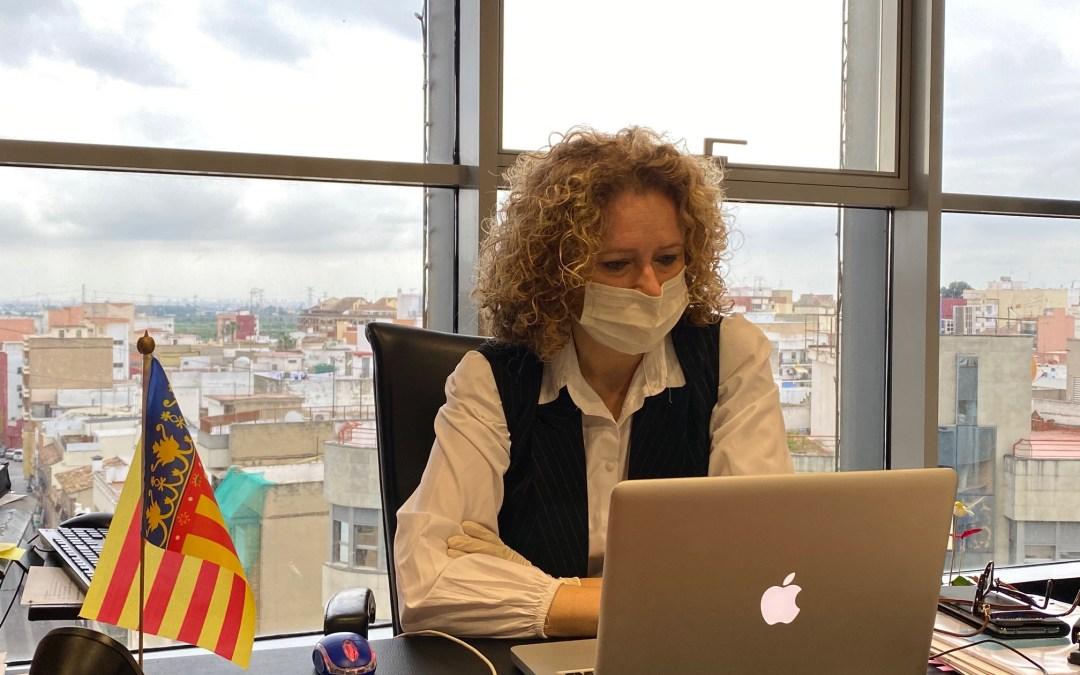 Cronología de las propuestas, peticiones y quejas de Amparo Folgado (PP) con relación al COVID-19