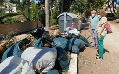 El PP denuncia la insalubridad de los contenedores en Torrent, pide más frecuencia de recogida y promocionar el uso de ecoparques