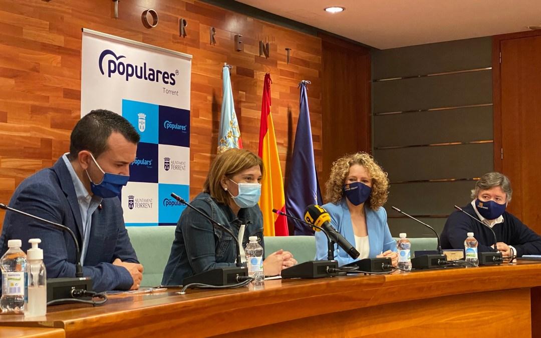 Bonig presenta en Torrent la moción para frenar la ocupación de viviendas que presentará el PP en todos los ayuntamientos
