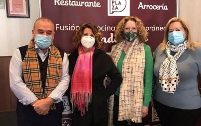 Folgado se reúne con la asociación gastronómica Cassola de Sant Blai