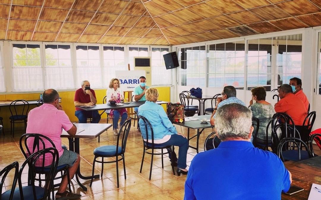 El PP de Torrent celebra un Consell dels Barris con las asociaciones del entorno de la Serra Perenxisa