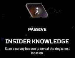 Insider knowledge Apex Legends pathfinder passive ability