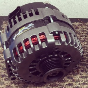 Apex High Output Alternator with no powder coating