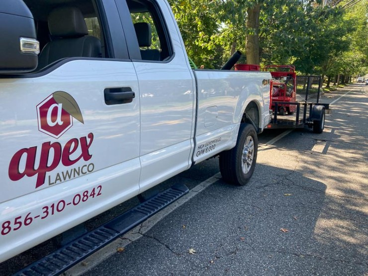 Apex Lawnco Lawn Care Service Truck