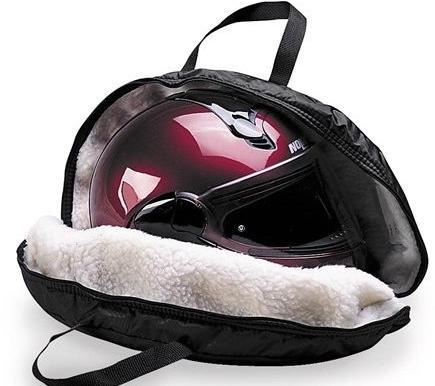 f714c440f1 Fleece Lined Helmet Bag