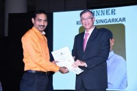 Mr. Kishor Singarkar – (Sr. Librarian – Dr L H Hiranandani Hospital) has been awarded as Most Improved Employee of the Year