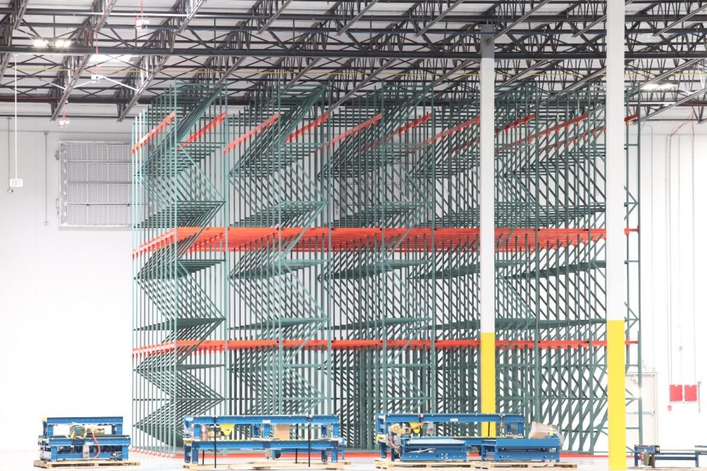 pallet rack storage installation tips