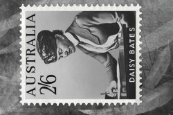 Daisy Bates Abandoned Stamp Card
