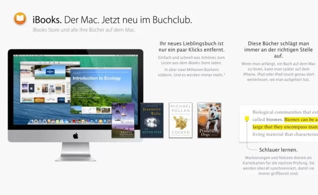 OS X Mavericks - iBooks